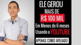 YouTube Para Afiliados – Treinamento do Agnones Batista