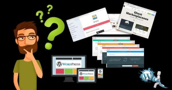 como saber o tema e os plugins de um site