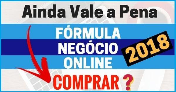 formula negócio online entrar