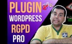 Plugin WP RGPD Pro – Deixe o seu Blog de Acordo com a Nova Lei em Menos de 5 Minutos!